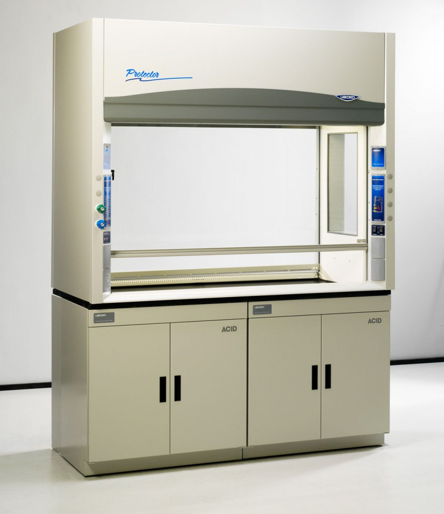 6 Foot Protector Pass-Through Laboratory Hoods